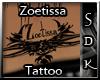 #SDK# Zoetissa Tattoo