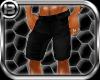!B! Blk Jean Shorts
