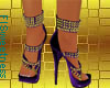 FLS Sandals - Purple Gol