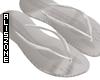 [AZ] White flip flop