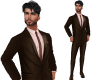 TF* Brown Full Suit