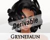 Derivable short hair