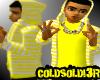 [LF] Y+W Stripy Hoodie