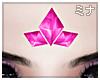 M| Tri Pink Crystal