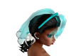 TEF TEAL COUTURE UPDO
