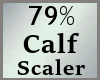 79% Calf Calves Scale MA