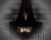 ]Akiz[ Vamp Fireplace
