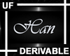 UF Derivable Han Sign