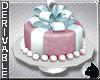 !Ribbon Cake - pedestal