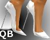 Q~White Extreme Heels