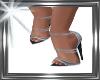 ! blue sandals.