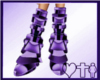 Purple Bionic Boots