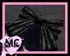 ~Lolita Lacey Stripe Bow