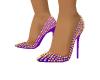 Light Purple Spike Heels