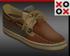 XO Brown Loafers