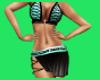 Hot Bikini w/skirt {DD}