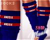 $ Baddie - Blue Socks
