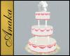 Pink Wedding Cake 5