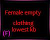 PM~ Clothing base low kb