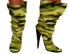 Camo Doll Boots