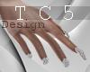 X-blade dj nails