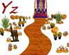 camino altar de muerto
