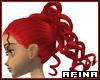 Medusa in Bright Red