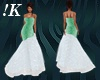 !K! Starry Mint Gown