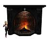 Vampire Castle Fireplace