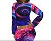 Spiral Galaxy Pajamas F