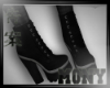 boots Night Black Goth 1