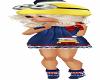 Child Minion Dress {F}