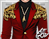 """Ⱥ"""" Red Gold Suits 2a"""