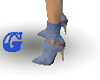 *G* Jean Ankle Stiletto