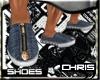 Zip Denim Sneakers