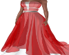 Evening Escape Gown-Red