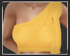 Betty Bow Top in Yellow