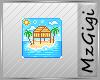 Tropical Island - Badge