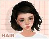 niko hair | dark brown