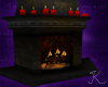 Gothic Regal Fireplace
