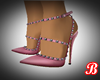 Heeled Pink Shoes
