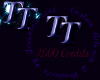 TT 2000credit Sticker