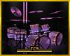 Night club drum set