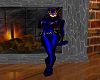 CatWoman Whip Blue