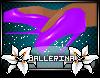 Ballet Boots -purple-