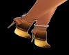 Gold&Brown Mules