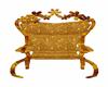 poltrona dourada