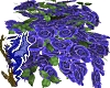 Blue Rose Hanging Basket
