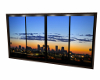 Sunset View sldg doors