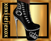 [L] QUEEN Silver Boots F